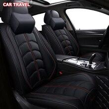 Роскошный кожаный чехол на переднее и заднее сиденье для mg zs prius 20 mitsubishi outlander xl toyota verso honda stream smart 453
