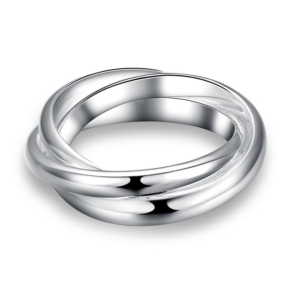 Las señoras joyería de platino plateado regalo pendientes de alta calidad para la Navidad