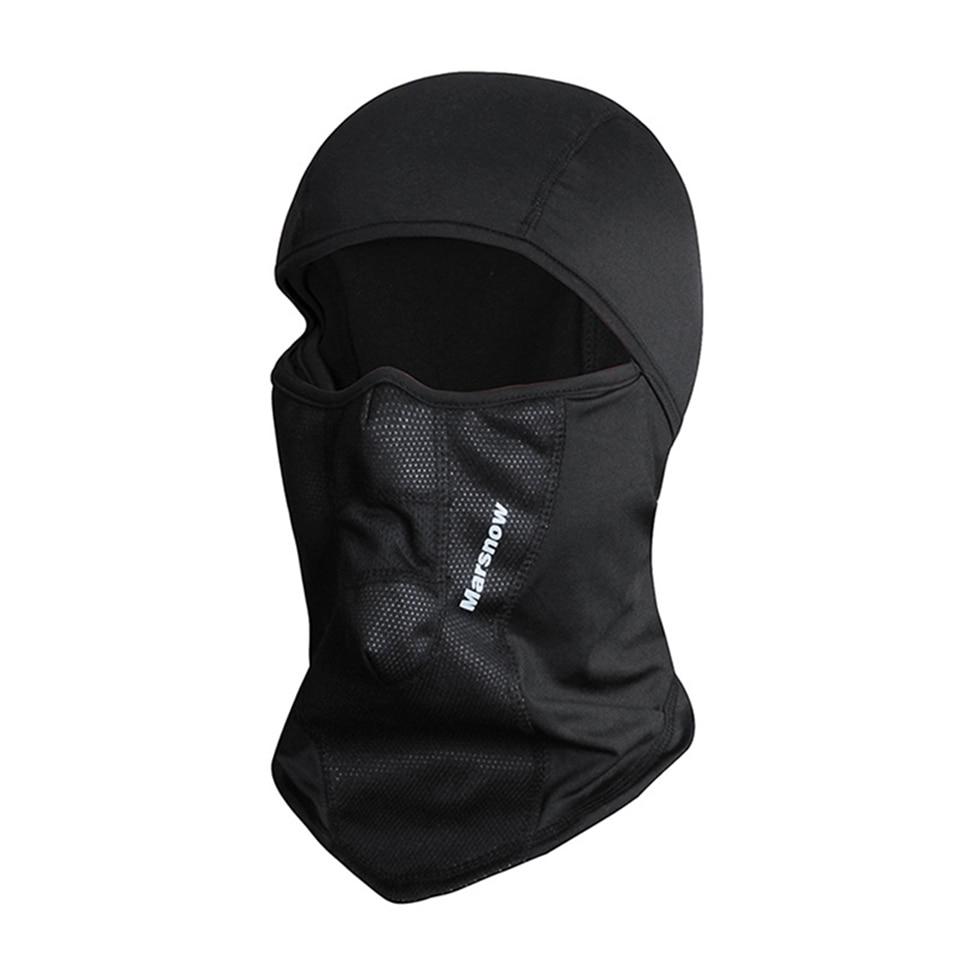 Marsnow Winter Warm Cap Ski Face Mask Outdoor Sport Thermal Scarf Snowboard Hiking Motorcycle Hat Fleece Mask