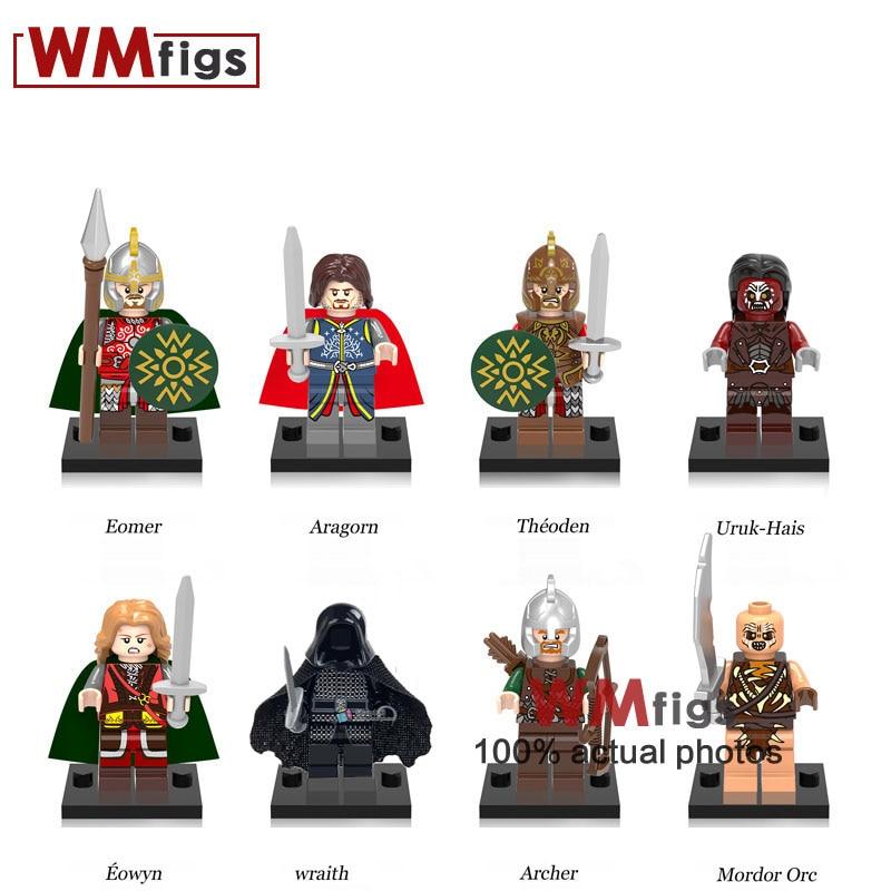 Genteel Single Legoings Lord Of The Rings Building Blocks Uruk-hai Herr Der Ringe Helmet Bricks Kids Toys Gift For Children Gift Making Things Convenient For Customers Blocks