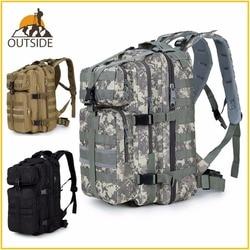 600D Wasserdichte Military Tactical Assault Molle Pack 35L Sling Rucksack Armee Rucksack Tasche für Outdoor Wandern Camping Jagd