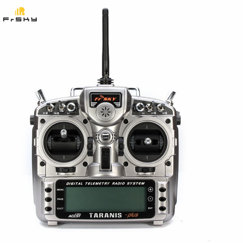 High Quality Original FrSky 2.4G 16CH ACCST Taranis X9D Plus Transmitter Carton Package with Battery For RC Model
