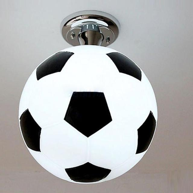 aliexpress koop nieuwe mode jongen kamer voetbal plafondlamp
