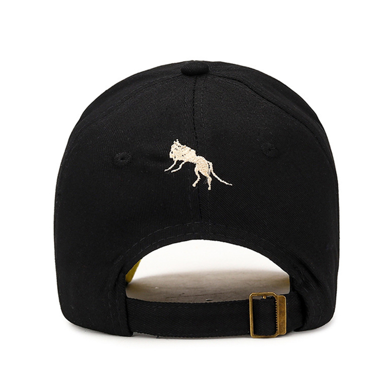 [NORTHWOOD] High Quality WOLF M Letter Baseball Cap For Men Women Streetwear Dad Hat Summer Sun Visor Trucker Cap Bone Masculi