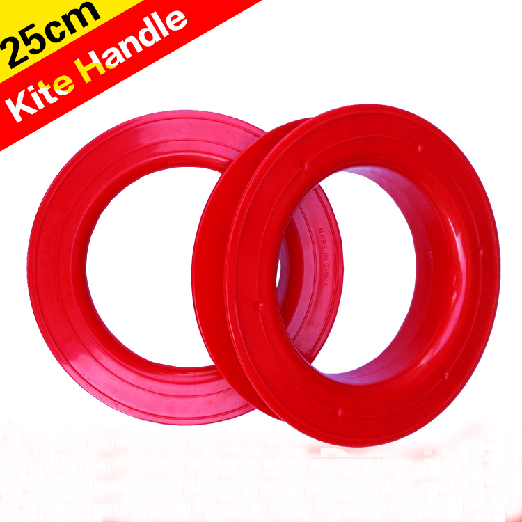 Free Shipping High Quality 25cm Large Kite Reel Parts Easy Control Outdoor Toys Kite Wheel Large Kite Power Handle Reel