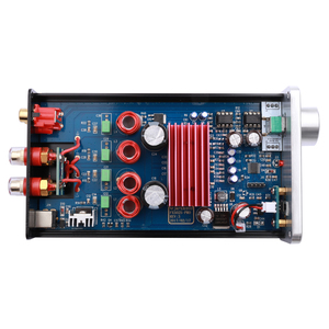 Image 3 - FX AUDIO FX502S פרו HIFI 2.0 אודיו דיגיטלי גבוהה כוח בית מיני מקצועי קולנוע ביתי מגבר TPA3250 NE5532 * 2 70 W * 2