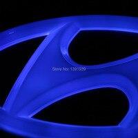 130x65mm 145x73mm Car Led Light Red Blue White For Hyundai Santa Fe Ix35 Ix20 Ix25 I10