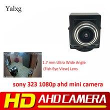 0,001 P м 2,0 m AHD мини-цветная камера видеонаблюдения Sony323 Starlight 1,78 Lux 2,8-мм 12 мм/1080 мм объектив домашняя камера видеонаблюдения