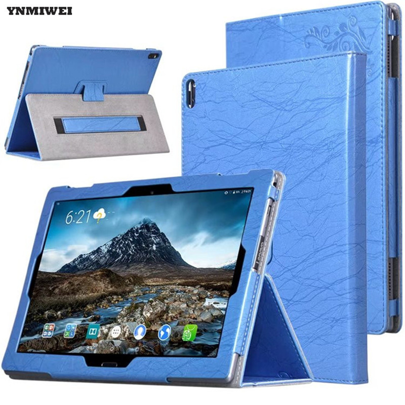 Tablet Case For Lenovo Tab 4 10 Plus Color Print PU Leather Flip Cover For TAB4 10 Plus TB-X704F TB-X704N 10.1'' Stand Cases slim fit stand feature folio flip pu hybrid print case for lenovo tab 3 730f 730m 730x 7 inch
