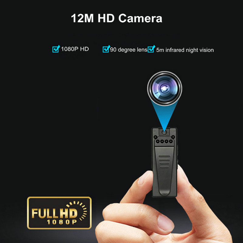 Image 5 - Mini WiFi Camera HD 1080P Sensor Night Vision Camcorder Motion DVR Micro Camera Sport DV Video Wireless Small Camera Clip camMini Camcorders   -