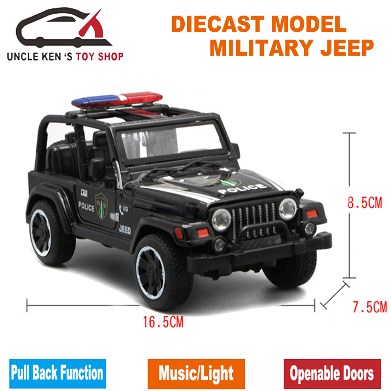 Diecast Military Jeep Model Army Toy Cars With Gift Box/Openable Doors/ Music/Light/Pull Back Function As Souvenir For Children-in Diecasts u0026 Toy Vehicles ...  sc 1 st  AliExpress.com & Diecast Military Jeep Model Army Toy Cars With Gift Box/Openable ...