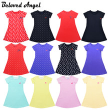 Beloved Angel Girls Summer Dress Kids Clothes Girls Party Wear Children Clothing 13 Style Princess Girl Dresses Hot Sale 1-13T(China)