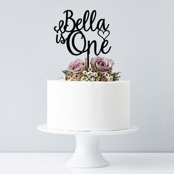 Custom Name Happy Birthday Cake Topper Personalized Gifts