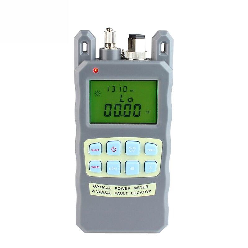 bilder für All-in-Fiber optische leistungsmesser-70 bis + 10dBm 10 mw 10 km Kabel Tester Visual Fault Locator FTTH Tester Tool