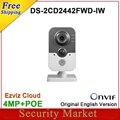 Original inglés versión $ NUMBER MP IR Cube Red DS-2CD2442FWD-IW reemplazar DS-2CD2432F-IW CCTV IP wifi IPC DS-2CD2442FWD-IW
