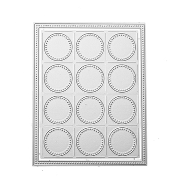 DIY Scrapbooking Cutting Dies Circle Border Metal Crafts Dies Stencils 3D Embossing Paper Crafts Dies Cards 2018 New Frame Decor circle