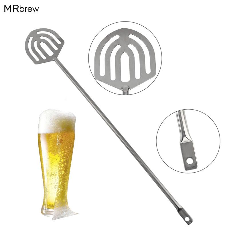 "23.8"" Brewing Stainless Steel Mash Paddle -All Grain Homebrew Beer Wine Cider Stirring"