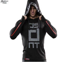 KORKSLORES Brand New Fashion Men Sportswear Print Men Hoodies Pullover Hip Hop Mens Ultra Thin Tracksuit