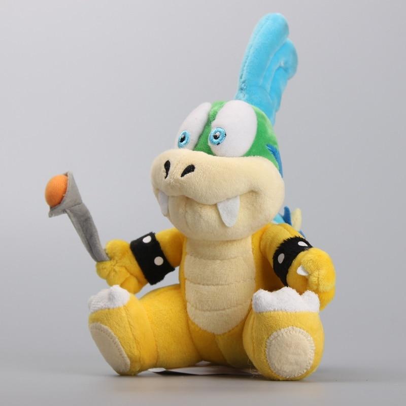 Super Mario Koopalings Larry Koopa Plush Toy Stuffed Dolls Kids Gift 8