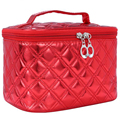 Big Promotion Women Cosmetic Bags PU Make Up Travel Toiletry Storage Box Makeup Bag Wash Organizer Cases for Girls Handbags S052