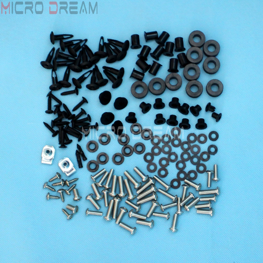 144 Pieces Complete Fairing Bolts Hardware Kit For Honda CBR1000RR <font><b>CBR</b></font> <font><b>1000</b></font> <font><b>RR</b></font> 2006 <font><b>2007</b></font> Motorcycle Install Screws & Nuts Kits image