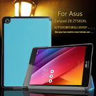 Magnet slim stand smart PU leather cover case For 2016 Asus Zenpad Z8 ZT581KL 7.9 inch tablet + Film + Pen