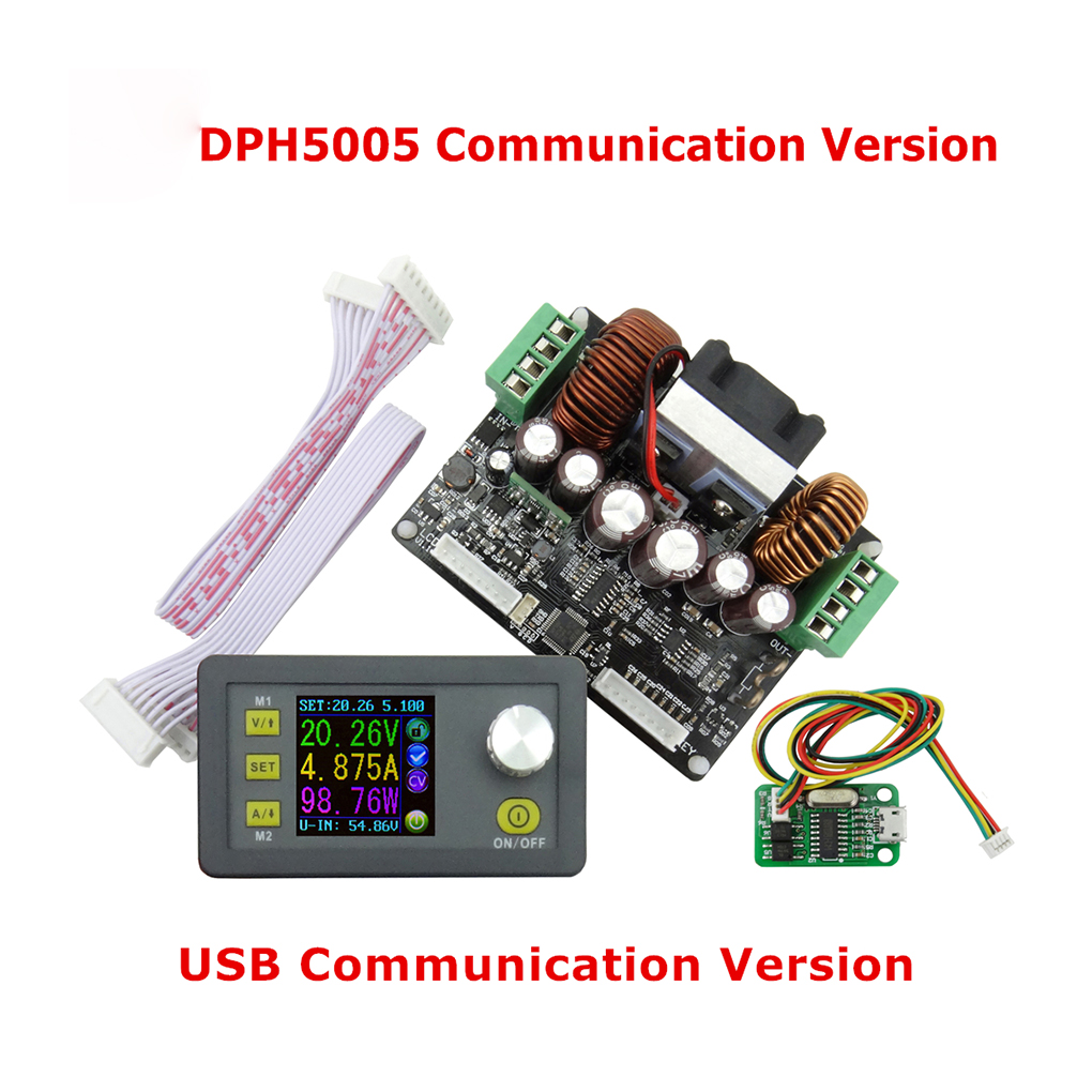 DPS3005 USB Communication Function Constant Voltage Current Step-down Power Supply Module Voltage Converter LCD Voltmeter constant digital voltage current meter step down dp50v2a voltage regulator supply module buck color lcd display converter