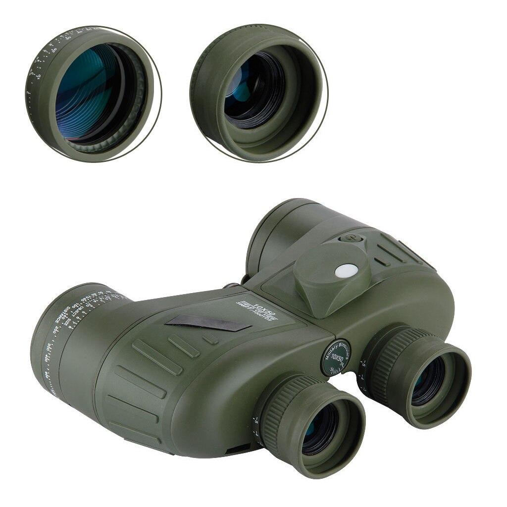 5Set Sale BOSTRON Waterproof 10x50 Marine Hunting Outdoor Binoculars Built-in Rangefinder Compass 10x50 outdoor military binocular army green marine prismatic binoculars hot sale