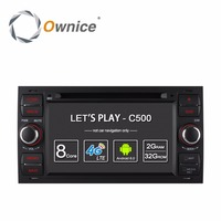 HD 1024 Octa Core Android 6.0 Car DVD Player GPS Radio For Ford Focus 2 2004 2005 2006 2007 2008 Mondeo Transit C Max Fiesta