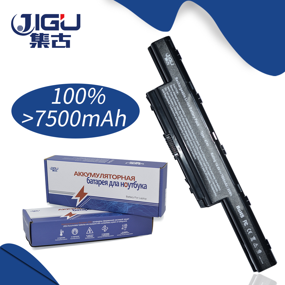 JIGU 7800 MAHLaptop BatteryFor acer Aspire 4755 4755 г 4755ZG 4771 4771 г 4771Z 5250 5251 5252 5552 5552 г 5253 5253 г 5336 5349 5749 ...