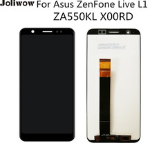 5.5'' LCD For Asus ZenFone Live L1 ZA550KL X00RD LCD Display+Touch Screen Digitizer Assembly Replacement srjtek 10 1 for asus vivotab rt tf600 tf600t tf600tg tf600tl touch screen digitizer sensor lcd screen display assembly