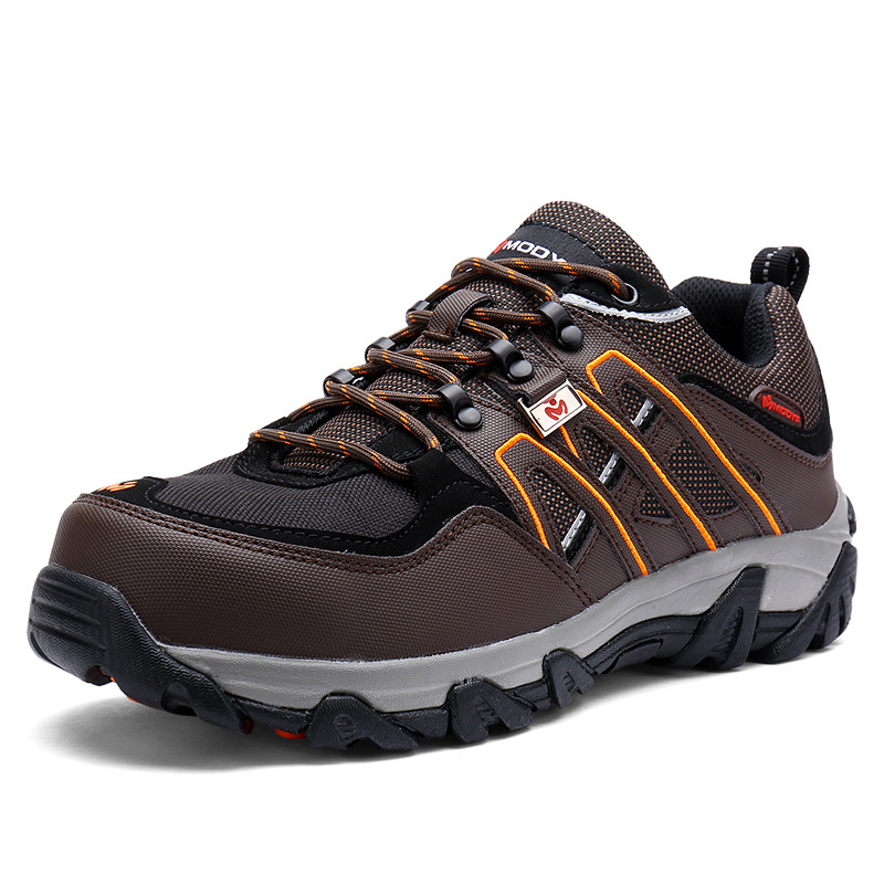 Modyf Men Steel Toe Safety Work Shoes Breathable Hiking sneaker - Мужская обувь - Фотография 4