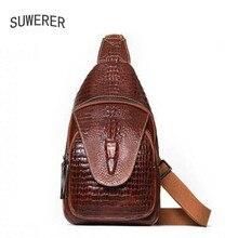 2019 new Genuine Leather backpack women luxury backpack women bags designer women backpack Crocodile pattern embossed bag
