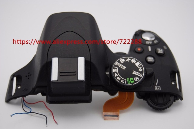 Repair Parts For Nikon D5100 Top Cover Assembly Top Shell Mode Dial Power Switch Shutter Button_640x640 repair parts for nikon d5100 top cover assembly top shell mode Nikon D5100 DSLR at nearapp.co