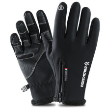 Motorcycle Gloves Winter Warm Fleece Lined Touch Screen Motorbike Windproof Waterproof Protective Moto