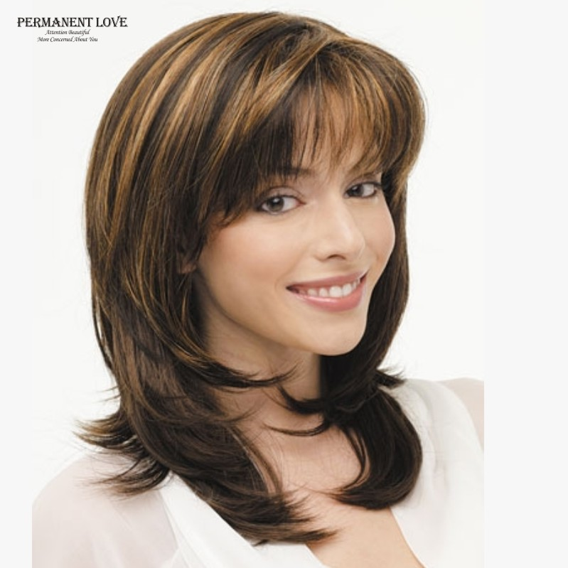 medium length prom hairstyles : Medium Length Hairstyles Brown With Blonde Highlights - Best Hairstyle ...