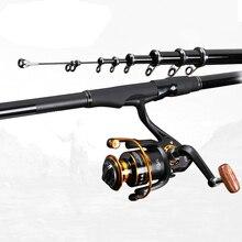 3.6M 4.5M 5.4M 6.3M Ultra Light Carbon Feeder Fishing Rod Telescopic Rock Fishing Rod Portable Travel Sea Lake Fishing Rod B246 стоимость