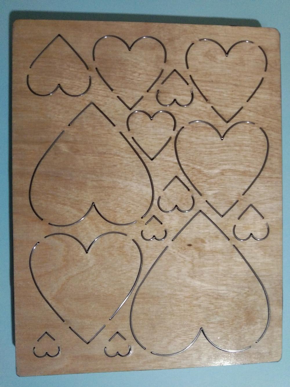 Love wood mold는 대부분의 주요 기계와 호환됩니다. 금형 두께: 15.8mm-에서절단 다이스부터 홈 & 가든 의  그룹 2