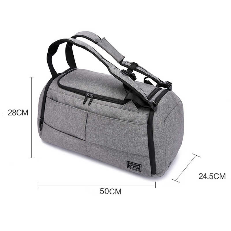 1f3bd36d422e 15 inch Gym Bag Multifunction Men Sports Bags Woman Fitness Bags Laptop  Backpacks Hand Travel Storage Bag With Shoes Pocket Yoga