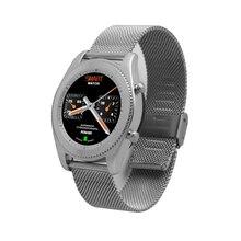 2017 Luxurious Ultra-thin Dial Men Women Business Smart Watch Fashion Luxury Steel Hombre Waterproof Leisure Smartwatches S9