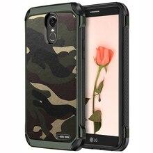 NTSPACE Camouflage Phone Case For LG G5 G6 G7 Army Camo Soft TPU Shockproof Armor Back Cover V10 V20 V30 K10