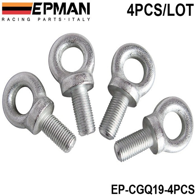 Competition Harness Eye Bolt size:7/16 Set Of 4pcs for