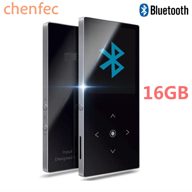 Newest Version 16GB HiFi Bluetooth MP4 Player Touch Screen Lossless Music Player Voice Recorder / FM Radio Expandable Up to 64GB
