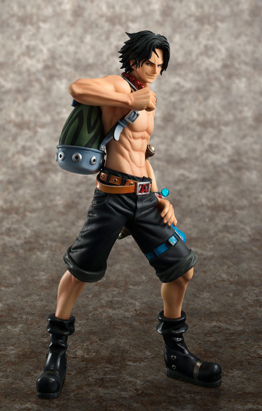 Anime One Piece POP Ace Monkey D Luffy Sabo Fire Fist 23cm PVC Action Figure Toy Collection Model Gift