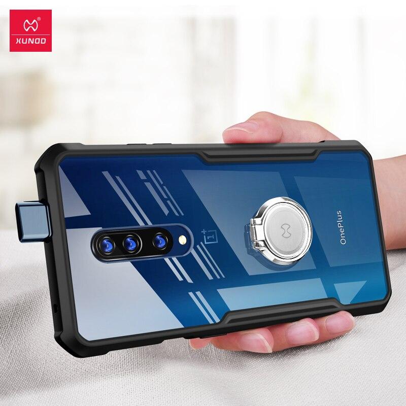 Para oneplus 7 pro caso xundd luxo 3d chapeamento a laser tpu capa para um plus 7 oneplus7 casos de telefone à prova de choque com alça
