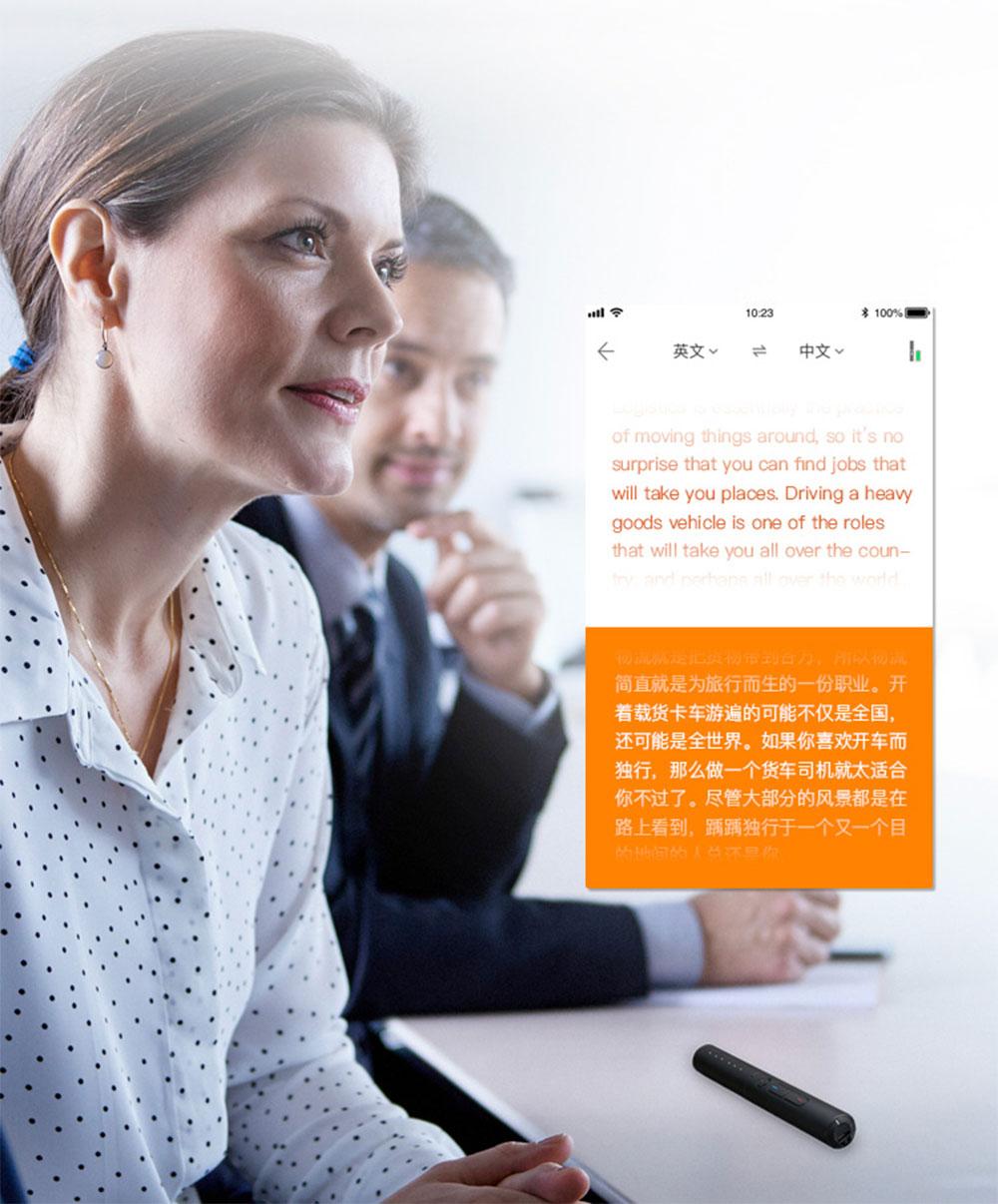 Pocket Language Translator Voice Languages Translation Spanish English French Russian Real-time Multi Instant Translator Device 15