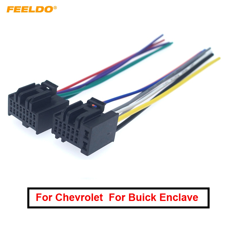 Wiring Harness Adapter for Chevrolet Captiva 2006 ISO stereo plug adaptor