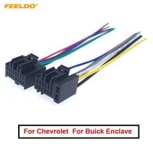 FEELDO стерео ISO аудио Установка жгута проводов адаптер для Chevrolet Captiva Enclave Silverado Tahoe радио CD/DVD кабель