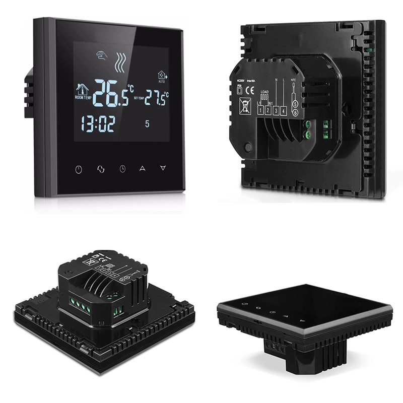 LCD Touch Screen Thermostat Warm Floor Heating System Thermoregulator AC200-240V Temperature Controller