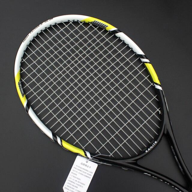 Racchetta da Tennis in Carbonio e Lega di Alluminio 5